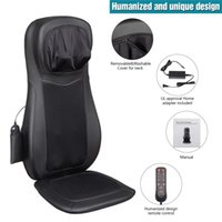 WACO Neck and Back Massager with Heat, Shiatsu Massage Chair Pad Furniture, Portable Compress & Rolling, Kneading Massager, Shoulder Full Body