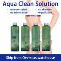 Navio incluindo venda de imposto Aqua Peeling Solution 4 * 500ml por garrafa Hydra Dermaabrasão Facial Serum de limpeza para a aprovação normal da pele
