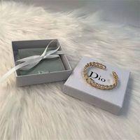 Designer jóias abrindo pulseira de bronze material moda simples bracelete mulheres 1bcj