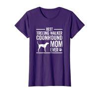 Womens Treeing Walker Coonhound Mom T-Shirt Best Dog Owner Ever
