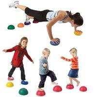 نفخ اللياقة البدنية اليوغا تدليك القدم الكرة الحساسية التوازن التدريب القرون الهيئة المتداول آلام الإغاثة العضلات بيلاتيس المعدات نصف دائرة كرات prother