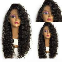 360 peluca frontal de encaje 180% Frontal Pelucas para el cabello humano 360 Peluca de encaje suelta Pelucas de cabello humano con encaje completo