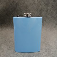 mixed Colored stainless steel 7oz hip flask ,12 color can be choose ,personalized logo accept 1759 V2