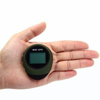 Mini Tracking Device Protable Keychain GPS Locator Travel Pathfinding Outdoor Handheld Tracker Watch-shaped Keychain