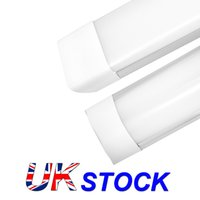 UK Stock 4ft 3ft 2 1 Shop Light Fixture 54W LED Tube Lights 5400lm 6000K 4000K 3000K 3 color temperatures Lightss 120cm Garage Closet Lighting for Office Home Basement