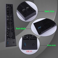 Laptop Cooling Pads 3-fan Game Console Usb Cooler Host Radiator Fast System Fan For Ps5 Playstation 5   Digital Edition 2021