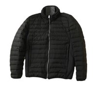 topstoney 20FW Man Winter heated removable down jacket Man casual goose down trendy jacket black puffer jacket