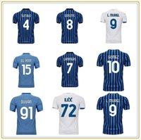 2021 Atalanta B.C. Futebol Jersey Pasalic Duvan Ilicic Fans Versão Adulto + Kids Kit Gomez Muriel # 18 Malinovskyi de Roon Gosens personalizado camisa de futebol de alta qualidade