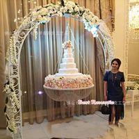 Decoração do partido Cristal Pendurado Bolo Stand Fantasy Weddings e decoração