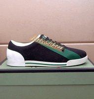 2021 Yüksek Kalite erkek Retro Düşük Üst Baskı Ayakkabılar Tasarım Örgü Loafer'lar Runnin Sneakers Bayanlar Moda Dantel-Up Lüks Erkek Shoess