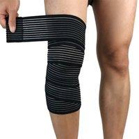 1PC Commodité Élastique Bandage Bandage Sport genou Support Strap Strap Strap Protecteur de compression pour la jambe de cheville Wrap 1467 Z2