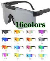 16 cores verão homens moda óculos de sol espetáculos de motocicleta mulheres dazzle cor ciclismo esportes ao ar livre sol vento óculos grande quadro grande