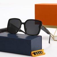 المصممين النظارات الشمسية بدون شفة النظارات الذكور للرجال الحجر الطبيعي زجاج الطيران عدسة البني
