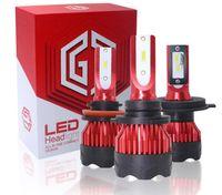 10000LM Car Headlights H4 H7 LED Headlight H1 H3 H8 H11 9005 3000K Golden Color Auto Parts Light