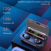 Headphones & Earphones DODOCASE F9 Wireless Sport Bluetooth V5.0 In-Ear TWS Earbuds Headset Temporary Charging Of Mobile Phone