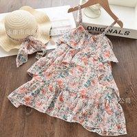 Bärleiter Chiffon Mädchen Kleid Sommer Prinzessin Kinder Kleider Für Mädchen Kausal Kleid Kleid Vestido Robe Fille Kinder Kleidung 1173 x2