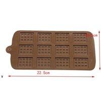 Dining Silikonform 12 Sogar Schokoladenform Fondant Formen DIY Candy Bar Form Kuchen Dekoration Werkzeuge Küche Backen Zubehör NHE6288