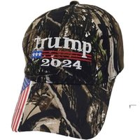 President Donald Trump 2024 Hat Camouflage Baseball Ball Caps Women Mens Designers Snapback Anti Biden Summer FWB6490