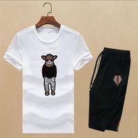Luxurys Designers Mens Dress Designe Tracksuit Short sleeve suit Fashion Tennis Jogger Suits Men Running sets M-3XL#10