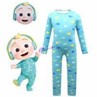 Theme Costume Baby JJ Cocomelon Costume Kids Cartoon Character Anime Jumpsuit Suit Child Birthday Party Halloween Costume For Boy Girls