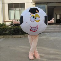 Performance Football Mascot Costume Halloween Fancy Party Dress Club Sport Cartoon Character Suit Carnival Unisex Adults Outfit