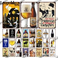 Beer Metal Plaque Wall Sticker Wine Glass Bottle Character Tin Label Metal Poster Wall Art Garage Home Decor Accessories
