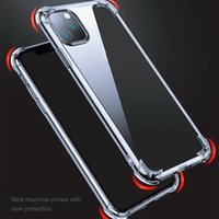Transparent Phone Cases For iPhone 12 11 mini Pro MAX XS XR 8 7 Plus TPU rotective Shockproof Clear Case Cover