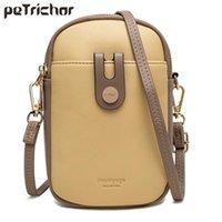 Cross Body Fashion Small Crossbody Bags Women Mini PU Leather Shoulder Messenger Bag For Girls Yellow Bolsas Ladies Phone Purse Zipper Flap