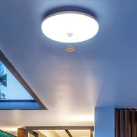 PIRセンサーLEDパネルランプ36W 24W 18W 13W 9Wの天井の表面照明85-265Vキッチンベッドルームのホワイヤーの廊下のシーライト