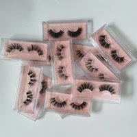 16 styles 3D Mink Eyelashes Eye makeup False Eyelash Soft Natural Thick Fake Lashes with packaging box free DHL