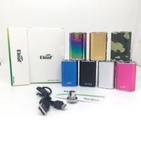 ELEEF MINI ISTICK 10W bateria 1050mAh Zmienne baterie napięciowe 7 kolory 510 Nici Vape Mod z Ładowarka USB EGO Złącze Proste Pack