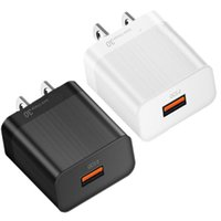 QC3.0 Quick Charging 5V 3.5 EU US Ac Home Wall Charger For Samsung S10 S20 Iphone X XR Huawei Android phone