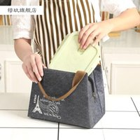 Storage Boxes & Bins Portable Lunch Bag Aluminum Foil Thickened Thermal Insulation To Take Work Pack Box