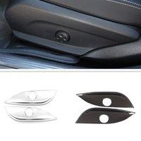 Автомобильное сиденье настроить переключатель крышка панель наклейки наклейки подходит для Mercedes Benz New C E GLC W205 W212 W213 Auto Внутренние аксессуары