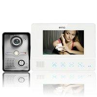 Inch TFT Touch Screen Kleur Video Deurtelefoon CMOS Night Versie Deurbel Camera Intercom Systeem Door Phones