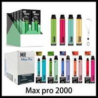 Max Pro Dispositivo Descartável E Kits de Cigarro 1700 2000 Puffs 750mAh Vape Pen 3.5ml Vaporizador 16 Núcleos PK Onee Stick Air Bar Posh Puff Max