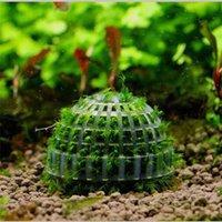 Aquarium Decoration Live Plants Fish Tank Media Moss Ball Tree Filter For Aquatic Pets Balls Ornament Decorations