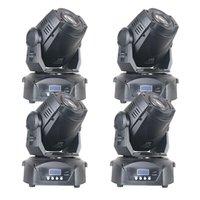 Efekty 4 sztuk / partia 90 WA7 Color 8 Gobo Scena poruszająca głowa 90 W LED LED Light Postępuj zgodnie z pasmami Club Bar