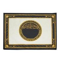 Luxurys Broderi Silk Vintage Placemat Plate Bowl Mats Square Matbord Mat Mode Enkel Skyddsisolering Pad