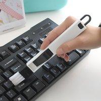 2 في 1 فرشاة التنظيف dustpan ويندوز requess الأخدود نظافة شاشات لوحة المفاتيح درج الشق غسل المطبخ أدوات تنظيف الكمبيوتر Y0412