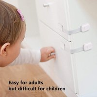 Carriers, Slings & Backpacks 10x Cabinet Locking Plastic Lock Safety Baby Infant Security Door Protector For Household Bedroom Protection