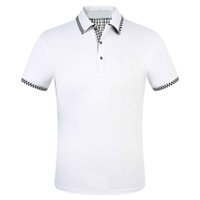 2021-1 Summer Brand Clothes Luxury Designer Polo Shirts Men Casual Polo Fashion Snake Bee Print Embroidery T Shirt High Street Mens Polos