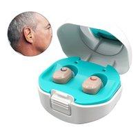 Mini Aides auditives invisibles Auditifonos Amplificateur sonore Volume Aide auditive Auditeurs à oreille Audience pour personnes âgées BoxShecouts