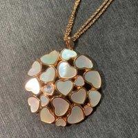 Bijoux en argent sterling de marque 925 pour femmes Lotus fleur coeur pendentif chance trèfle sakura fête mariage mère de perles