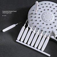10pcs / set doccia testa piccola spazzola bottiglia bottiglia di teiera ugello bollitore beccuccio micro appunti a punta di pulizia elettrodomestici