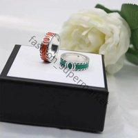 2021 Moda 925 Sterling Silver Skull Band Rings para Mens e Mulheres Festa de Luxo Promessa Campeonato Jóias Amantes Presente com Caixa AA1