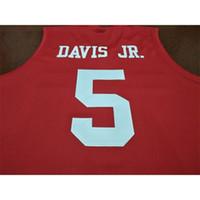 Özel 009 Gençlik Kadınlar Hou Cougars Dejon Jarreau # 13 Corey Davis Jr # 5 Armoni Brooks # 3 Jersey Size S-5XL veya Özel Herhangi bir isim veya numara forma