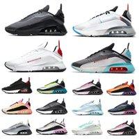 Nike air max 2090 erkek koşu ayakkabısı Wolf Grey Volt Pure Platinum Photon Dust Navy Magenta Duck Camo Brushstroke Siyah Antrasit erkek kadın eğitmenler spor ayakkabı