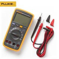 Multimeter Fluke 100% Original 18B + LED AC / DC-Spannungsstrom digitaler Multimeter- und Wandler-Wechselstrom-Klemmzähler