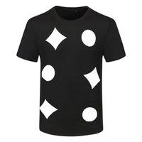 Herren T-shirts Sommer kurze Ärmel Mode gedruckt Tops Casual Outdoor Männer T-Shirt Crew Nackenkleidung 21ss Tshirt M-3XL